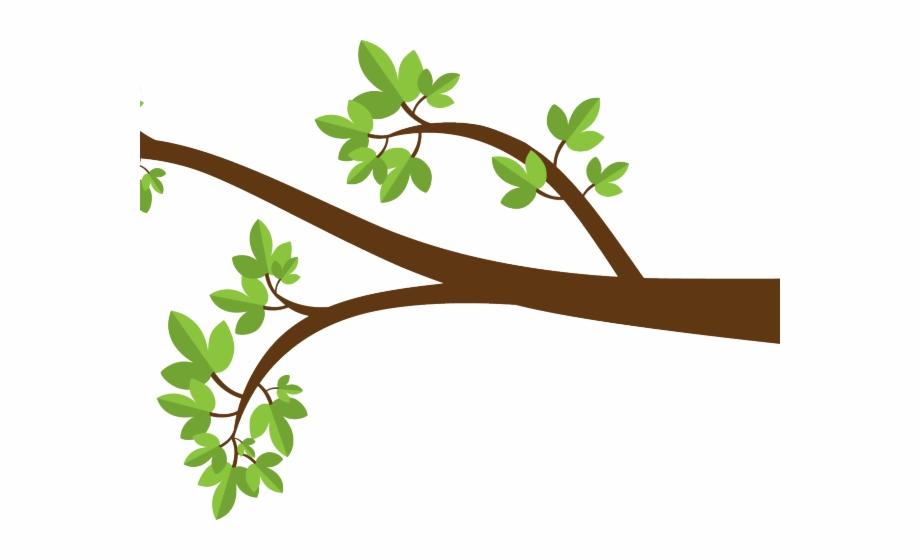 Branch Clipart Long.