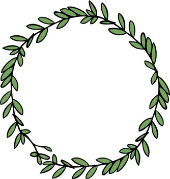 SPRIGS, TWIGS & BRANCHES **clip art**.