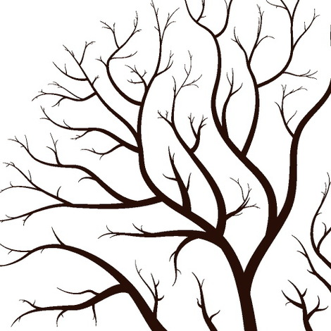 Clip Art Tree Branches Clipart.