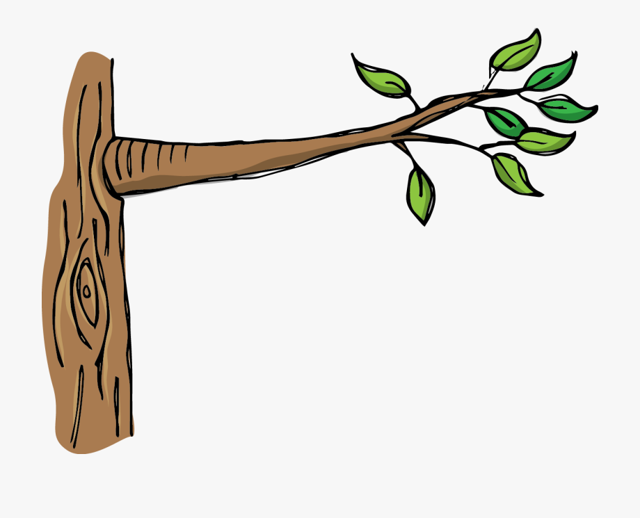 Black And White Download Tree Branch Clipart.