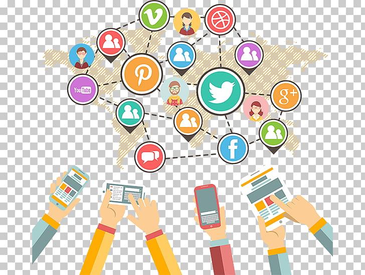 Social media marketing Brand awareness, social media PNG.