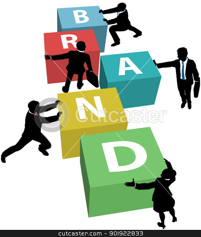 Brand manager clipart.