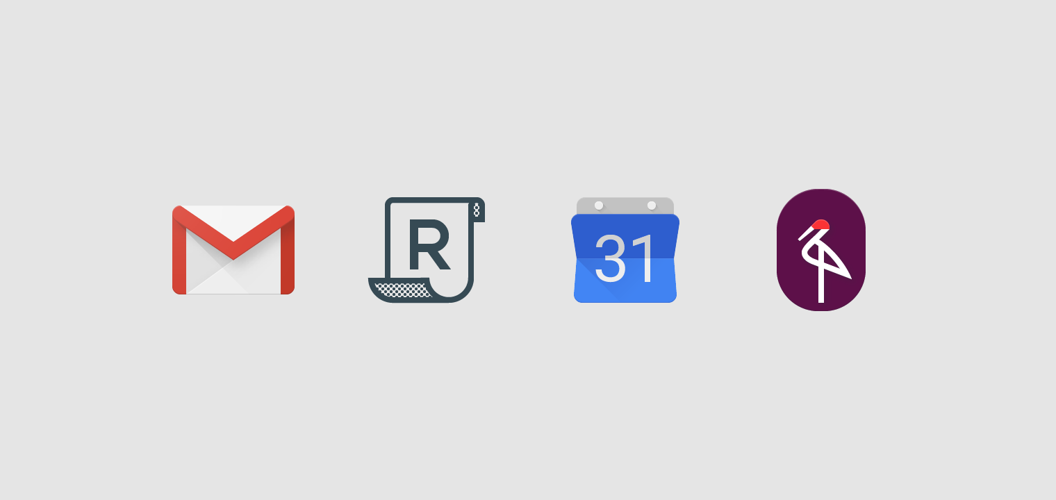 Product icons.