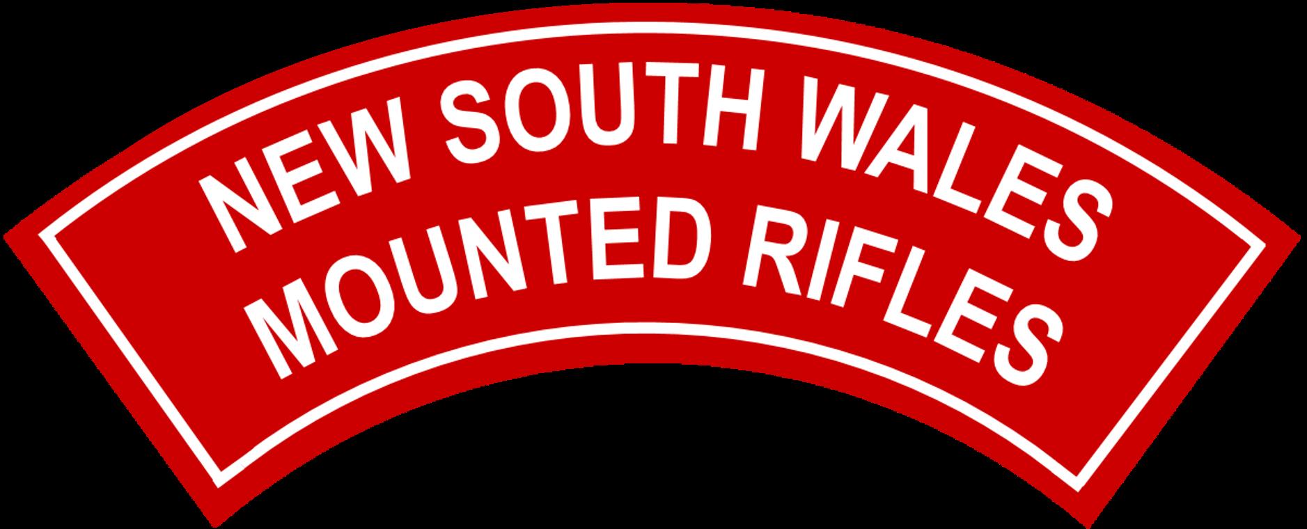 File:New South Wales Mounted Rifles battledress flash first pattern.