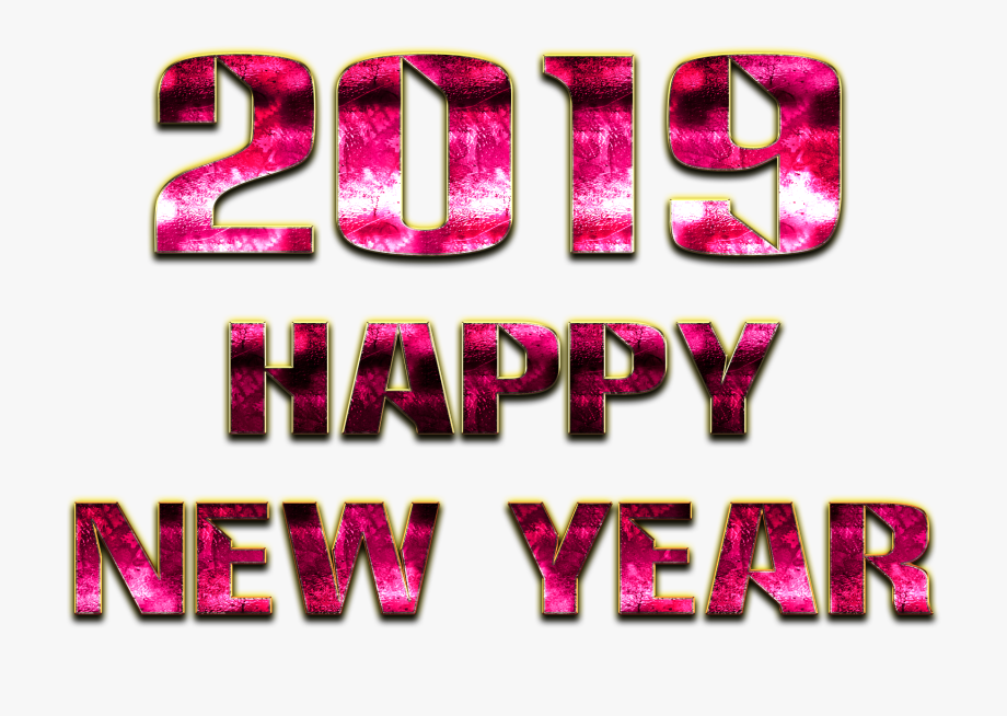 Happy New Year Clipart Png #38197.