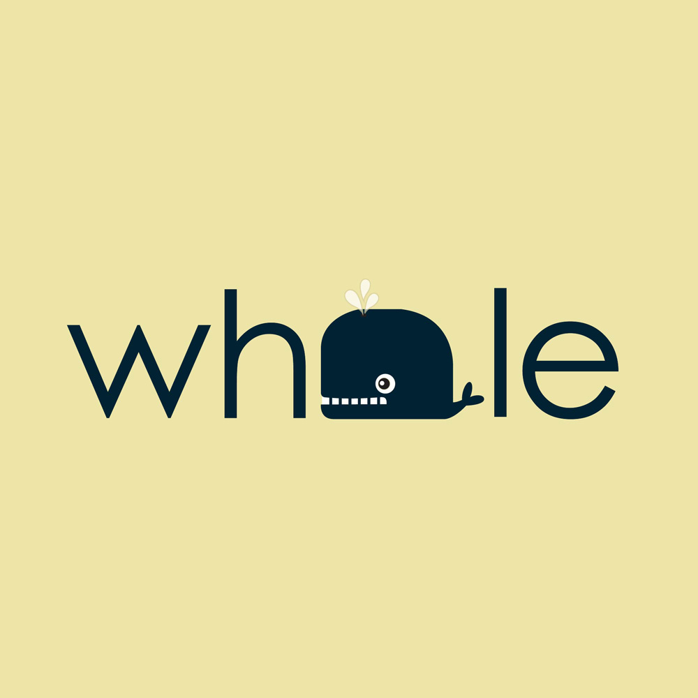 Whale Agency Concept Logo.
