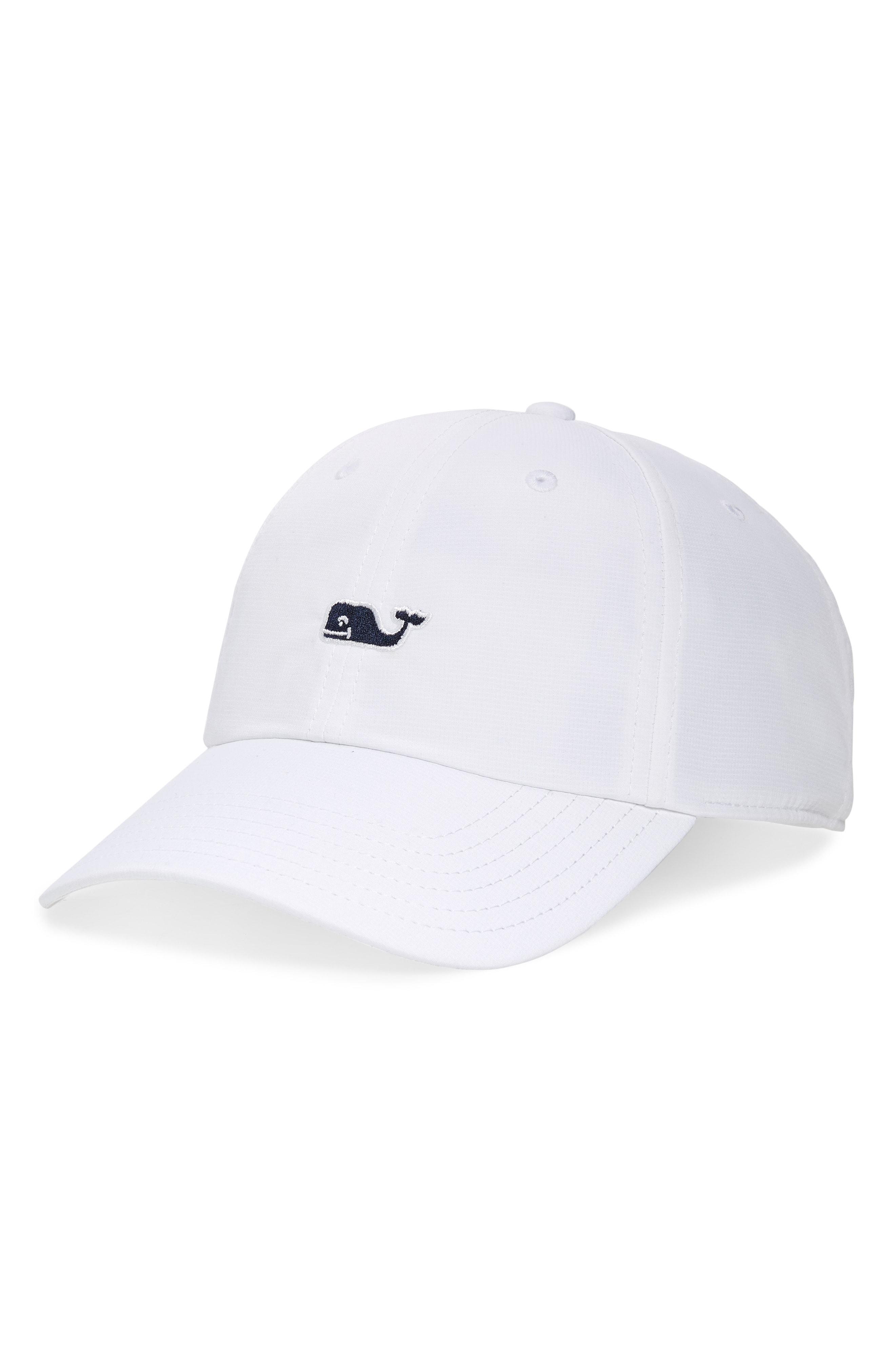 Whale Logo Baseball Cap.