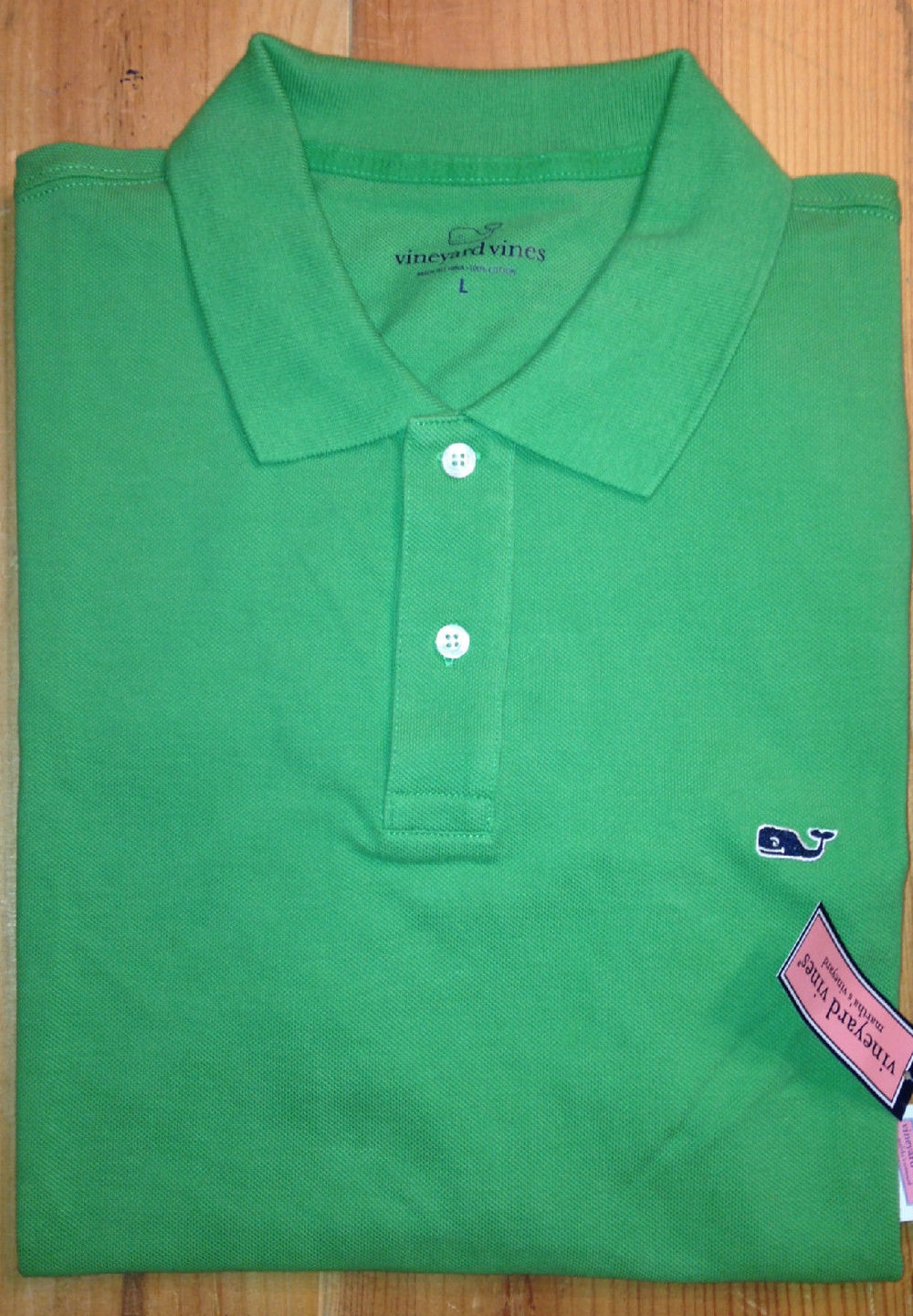 The USA famous whale brand men polo shirt cotton solid color.