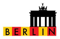 Brandenburg Gate Berlin Germany Stock Illustrations.