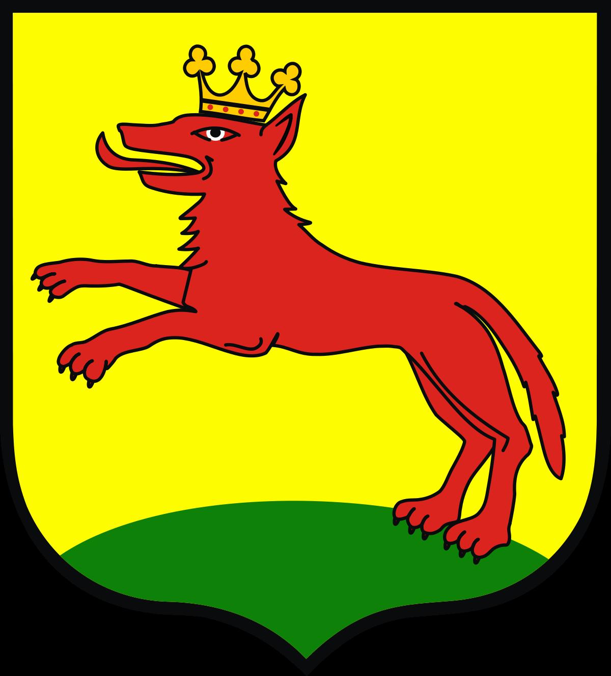 Wolves in heraldry.