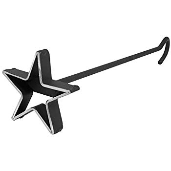 Amazon.com : BBQ Fans Circle Star Branding Iron for Steak, Buns.