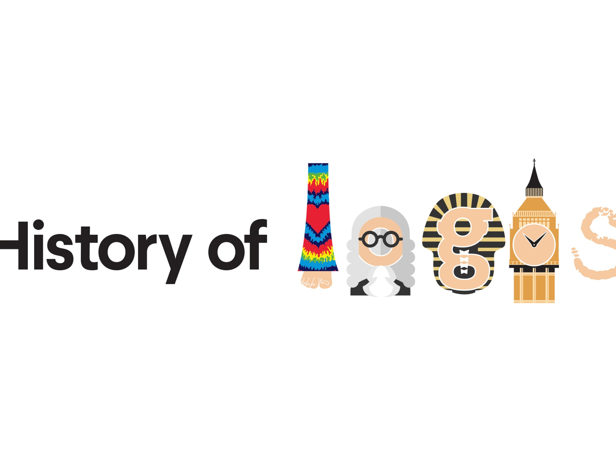 The history of logos.