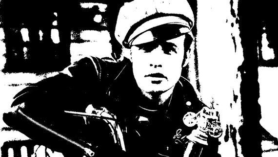 Items similar to Pop Art Marlon Brando from The Wild One on Etsy.