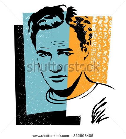 Marlon Brando Stock Images, Royalty.