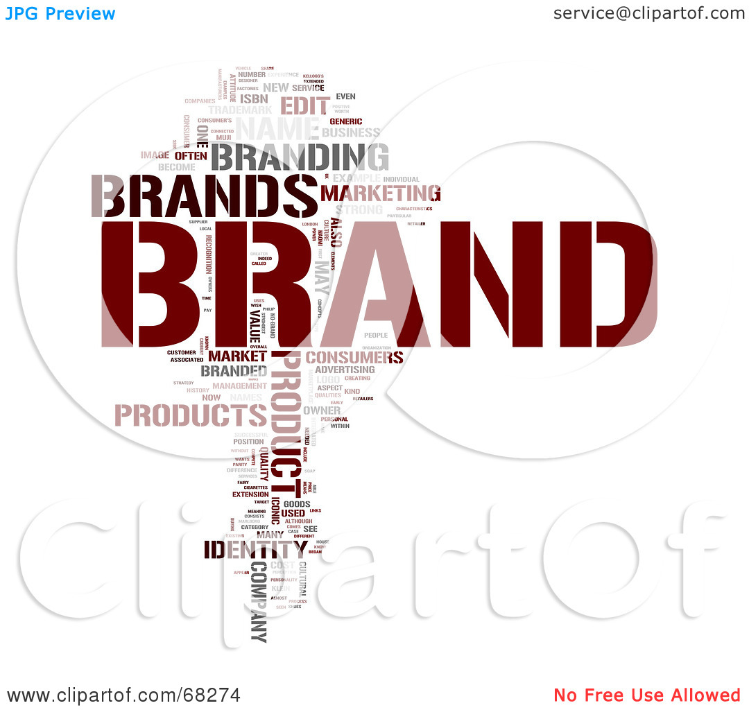 Clipart of brands.
