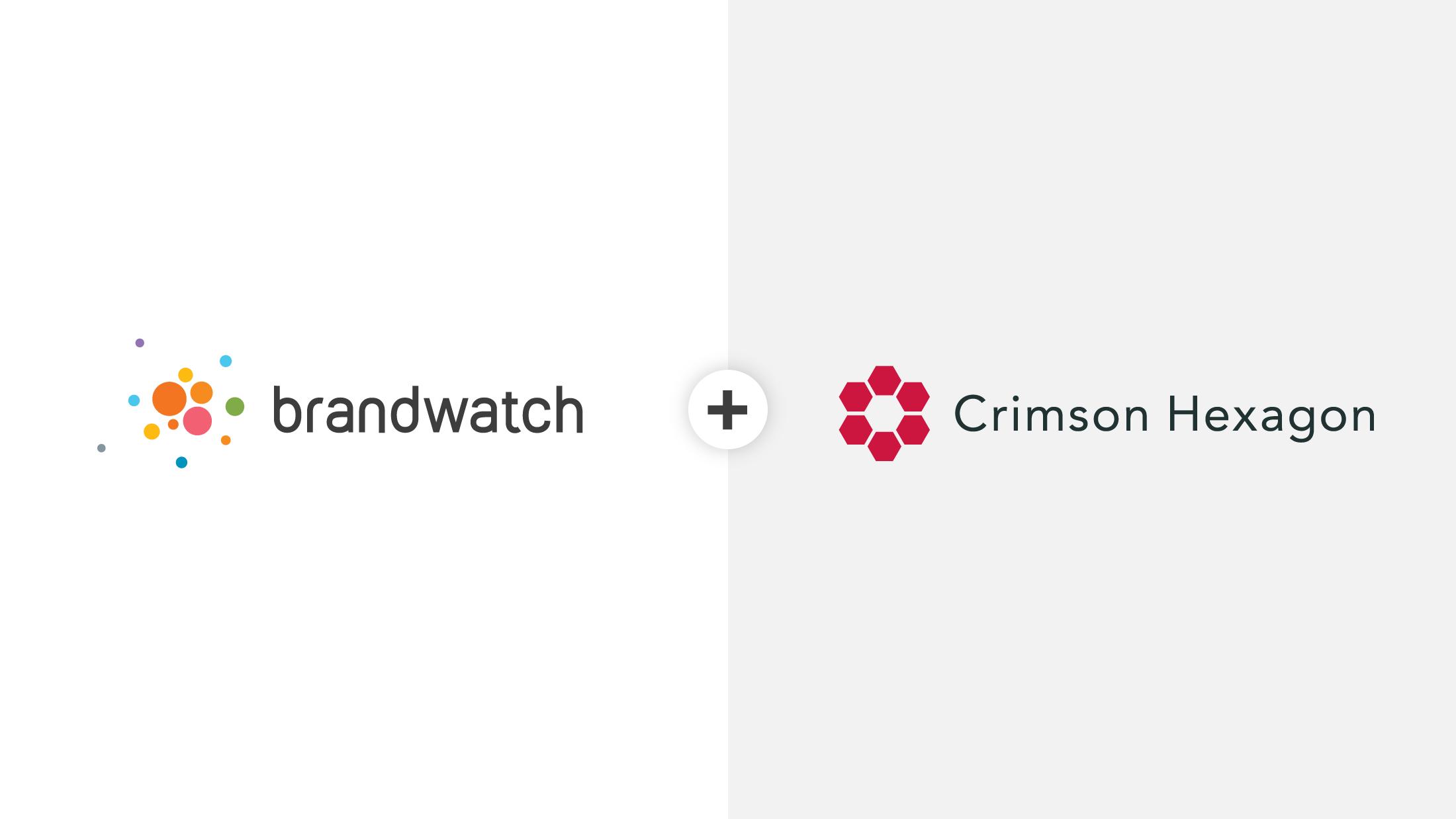 Brandwatch and Crimson Hexagon to merge into $100M social.
