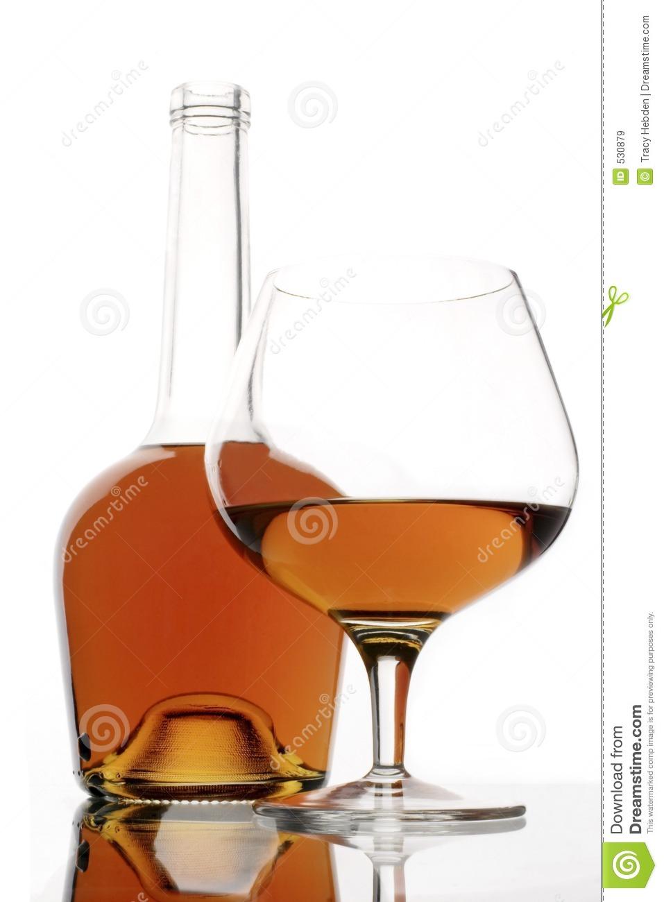 Brandy Drink Clipart.
