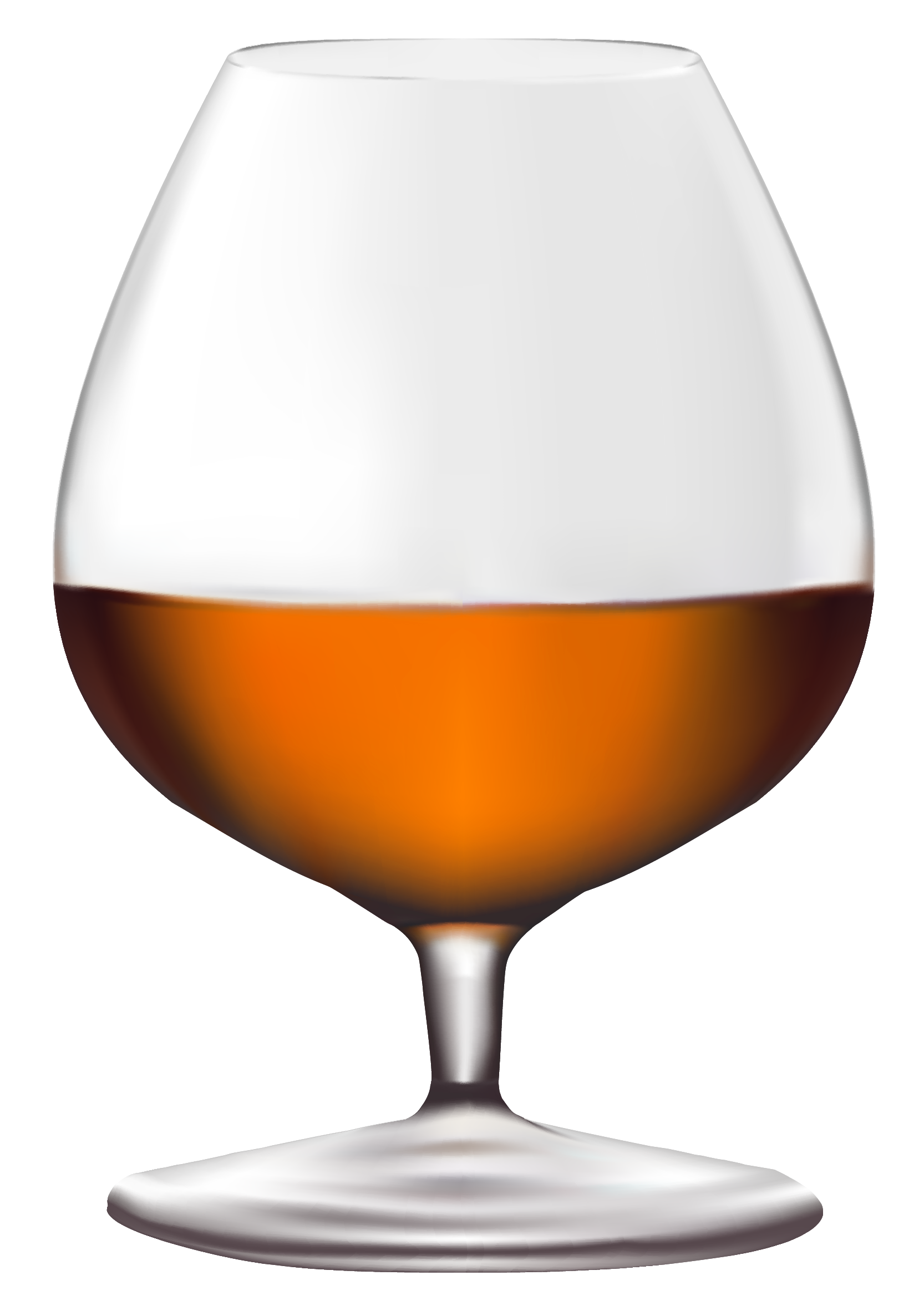 Brandy Glass PNG Clipart.