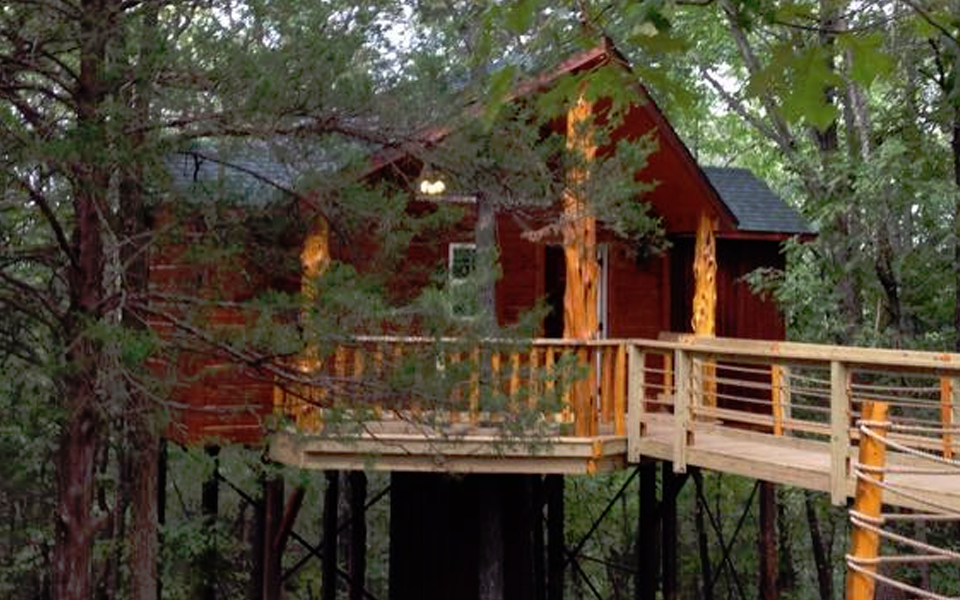 Branson Treehouse Cabin and RV Park.