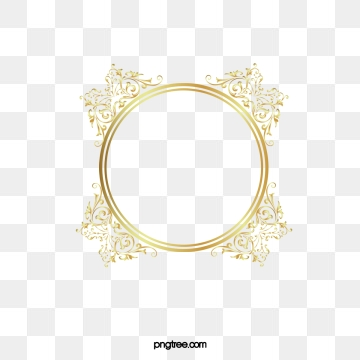 Golden Circle Png, Vector, PSD, and Clipart With Transparent.