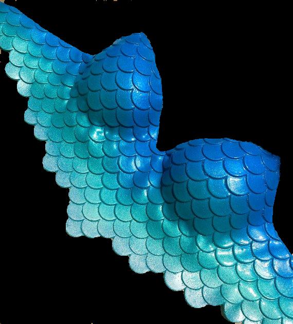 brasier mermaid sirena.