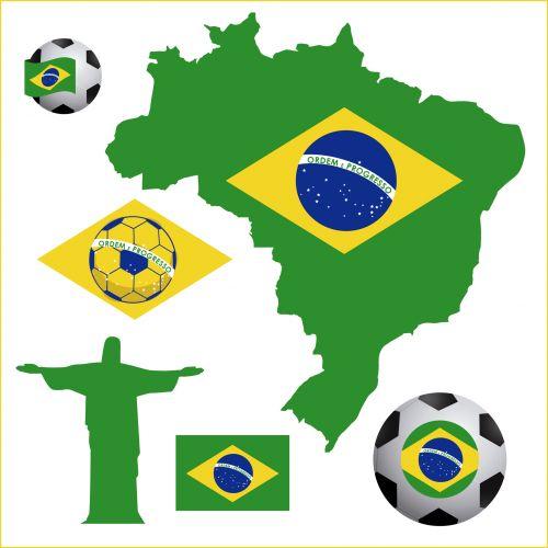 Brazil clip art.