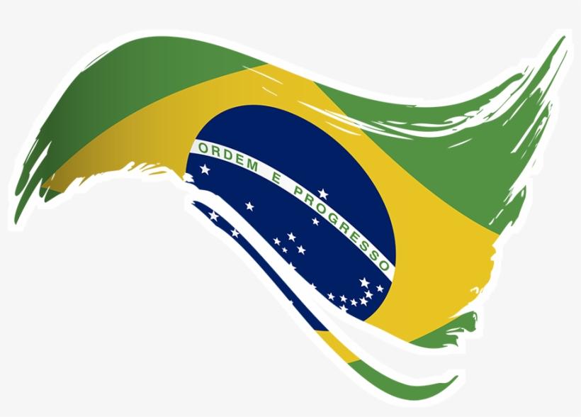Adesivo Bandeira Do Brasil I De Lemon Pepper Colab55.