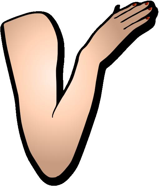Arm And Hand Clip Art at Clker.com.