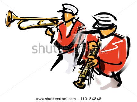 Marching Band Stock Photos, Royalty.