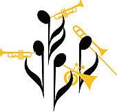 Brass band Clipart EPS Images. 691 brass band clip art vector.