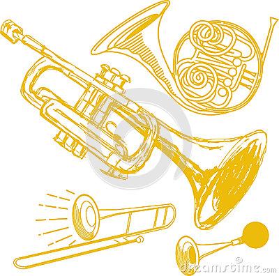 Brass Clip Art.