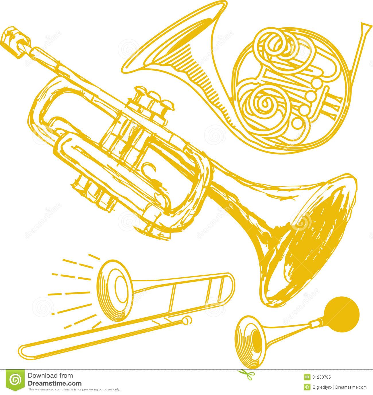 Brass clipart.