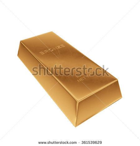 Bronze Ingot Stock Photos, Royalty.