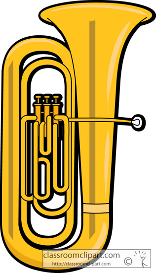 Brass instruments clipart free.