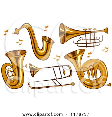 Brass Instruments Clip Art Free.