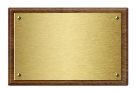 476 Brass Plaque Stock Vector Illustration And Royalty Free Brass.