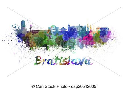 Bratislava skyline Illustrations and Clip Art. 18 Bratislava.