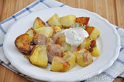 Bratkartoffeln, Deutsche Braten.