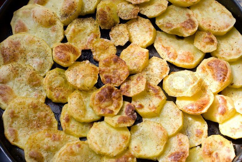 Bratkartoffeln.