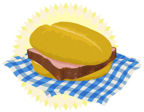 Bratwurstsemmel clipart clipart images gallery for free.