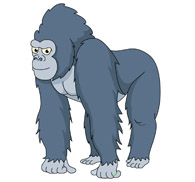Free Gorilla Clipart.