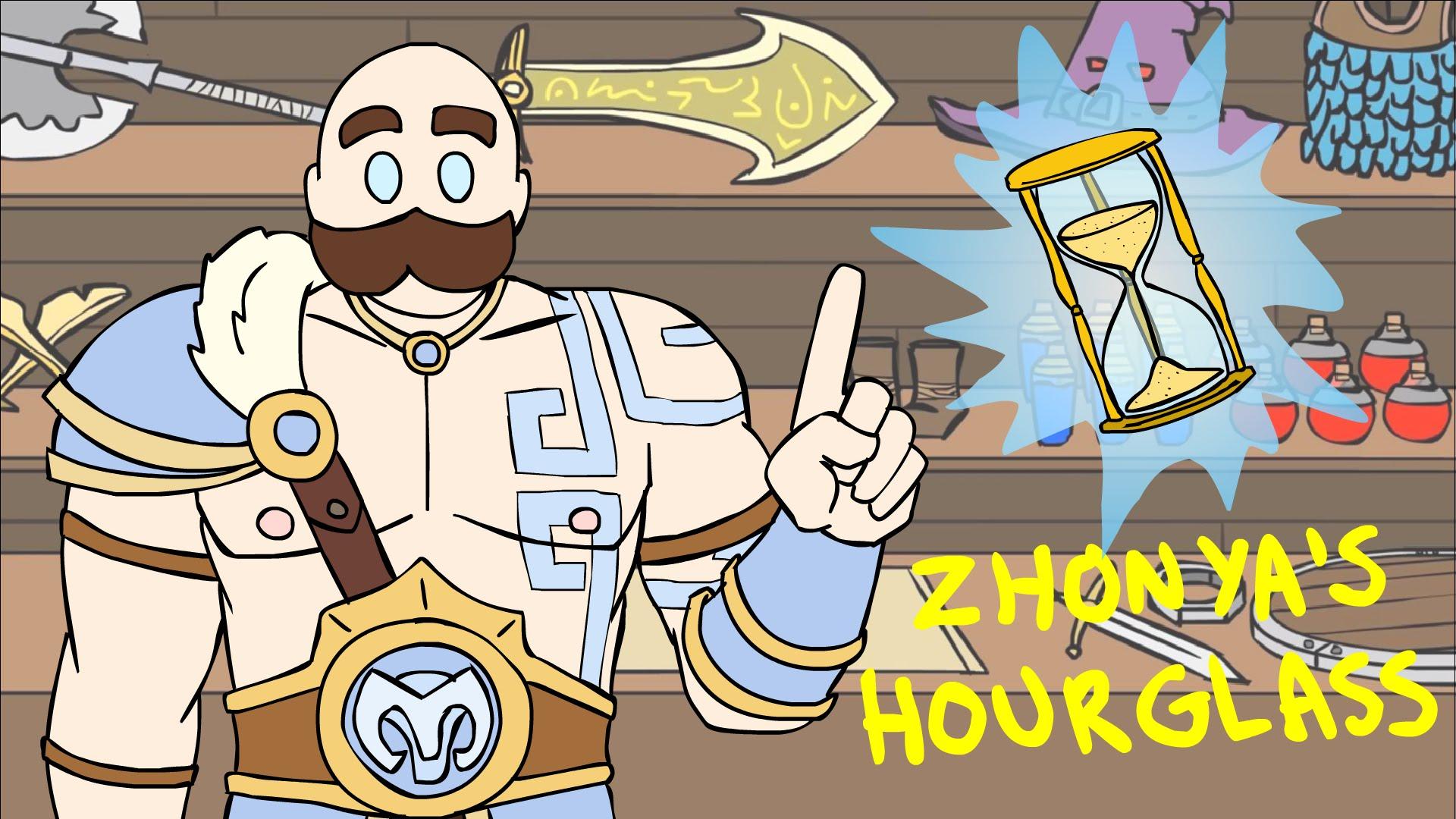 Shopping With Braum: Zhonya's Hourglass.