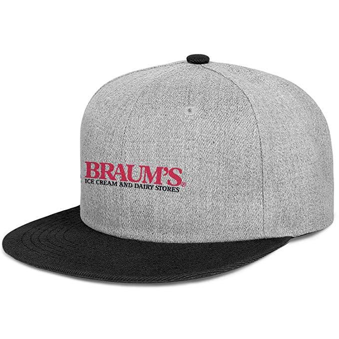 Amazon.com: Braum\'s Logo Color Snapback Baseball Cap Casual.