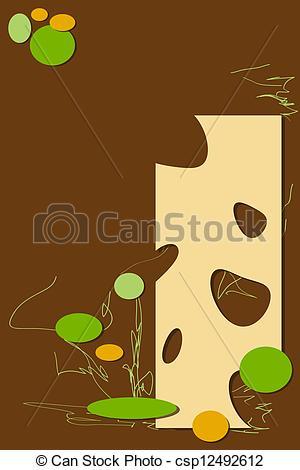Clipart of background braun vector illustration csp12492612.