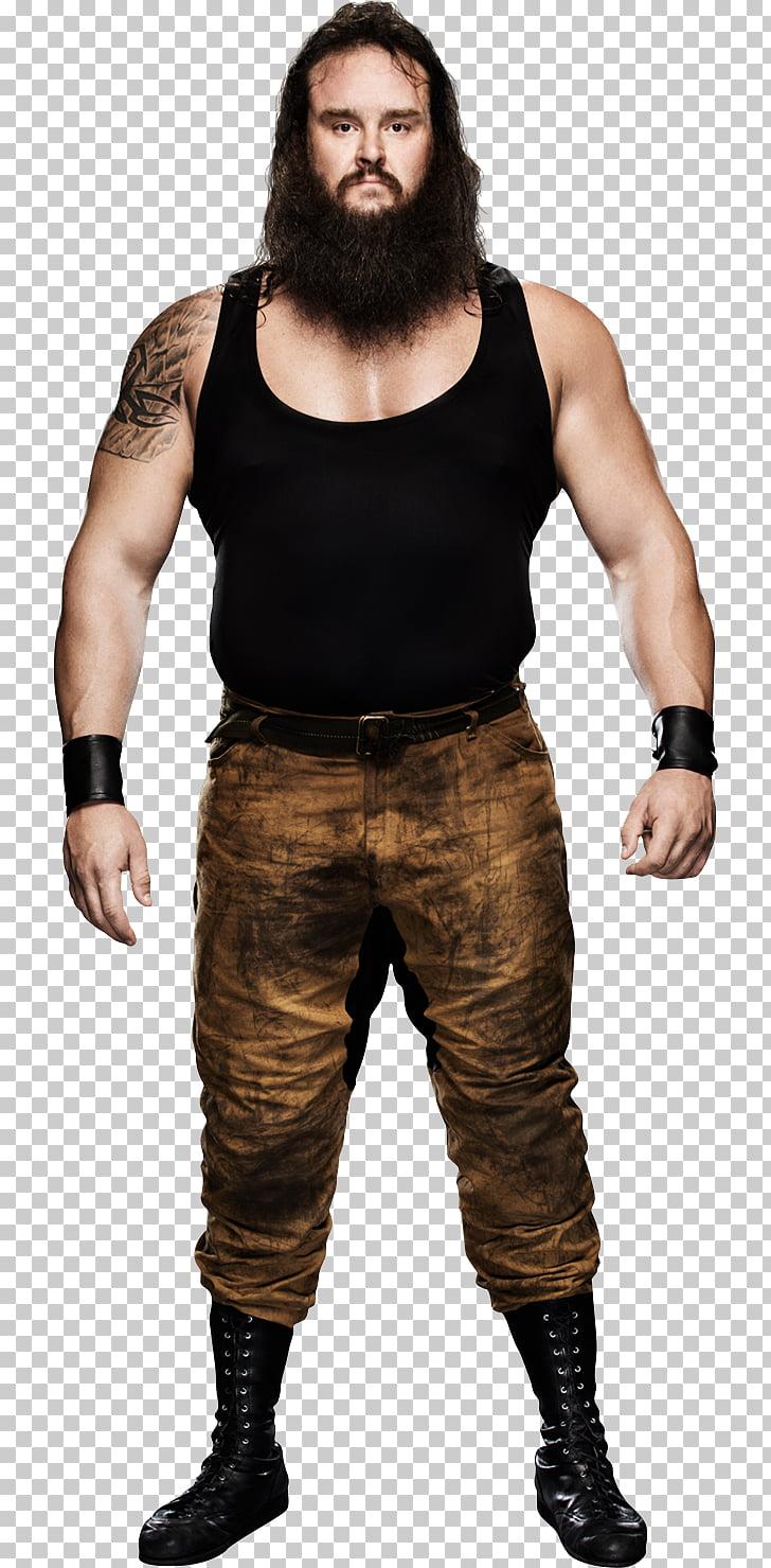 Braun Strowman WWE Mixed Match Challenge Royal Rumble 2018.