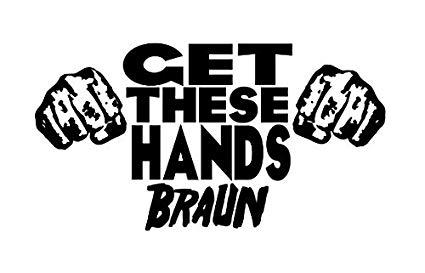 Amazon.com: Braun Strowman Get These Hands WWE NXT Wrestling.