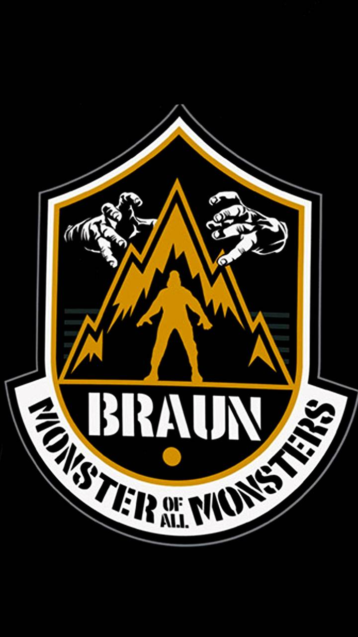 Braun Strowman Wallpaper by 619alberto.