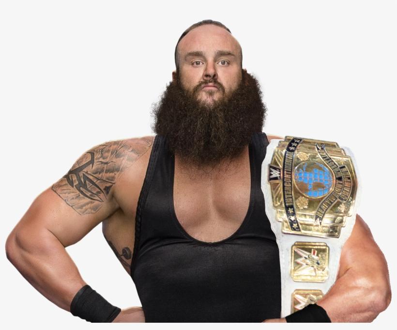Intercontinental Champion Braun Strowman Hd Pics.