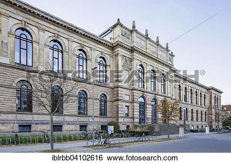 Stock Images of Braunschweig University of Technology, main.
