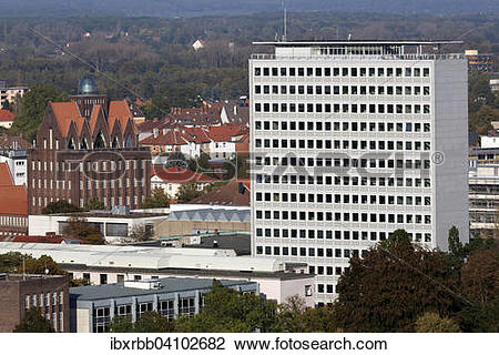 Stock Photo of Braunschweig University of Technology, faculty of.